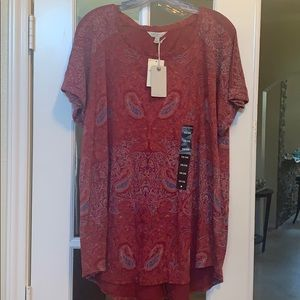 Plus size lucky brand top!